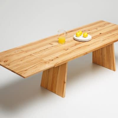 Tisch Puro in Wildkernbuche - Auszug Step 3