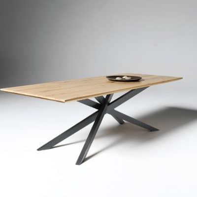 Tischgestell schwarz lackiert
